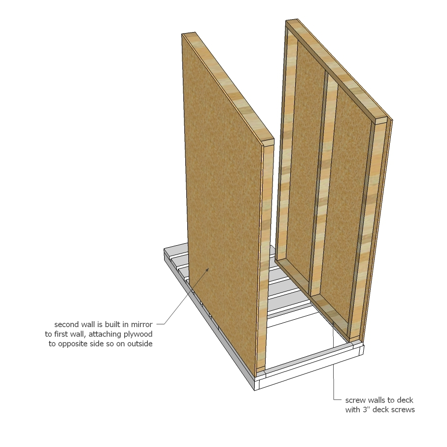 Ana White | Simple Outhouse - DIY Projects