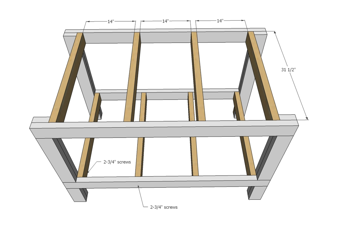 Ana White – Easy Garage Workbench Plans