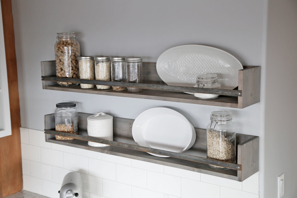 Rustic Shelves | Ana White