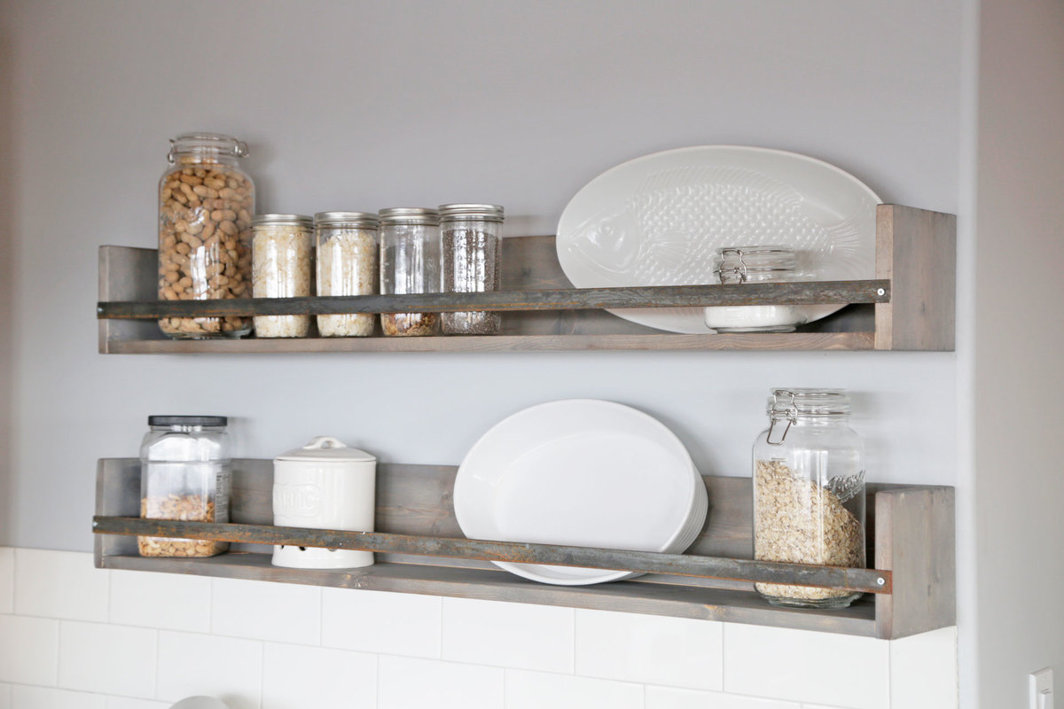 Ana White Rustic Shelves Diy Projects