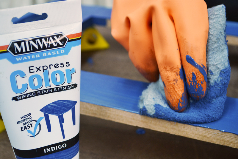 Express Color With Minwax Stain