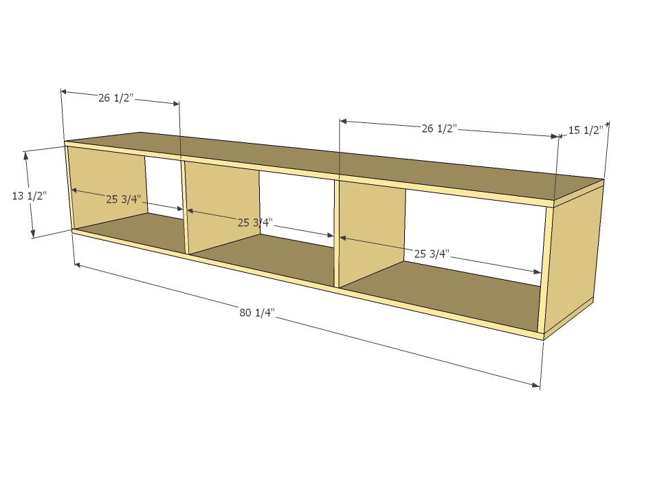 Platform Bed Using Storage Cubes