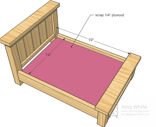 Huge idea marts 2015 for Farmhouse bed plans