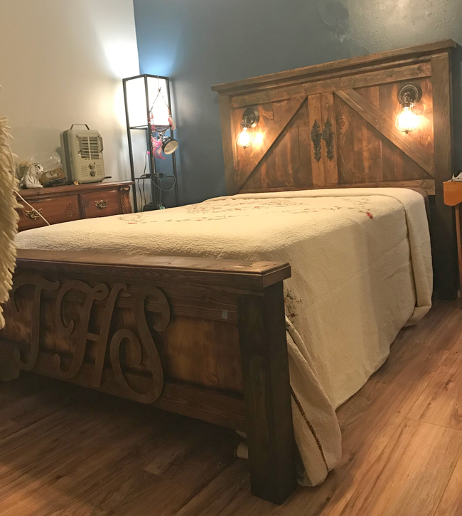 Barn Door Farmhouse Bed Ana White