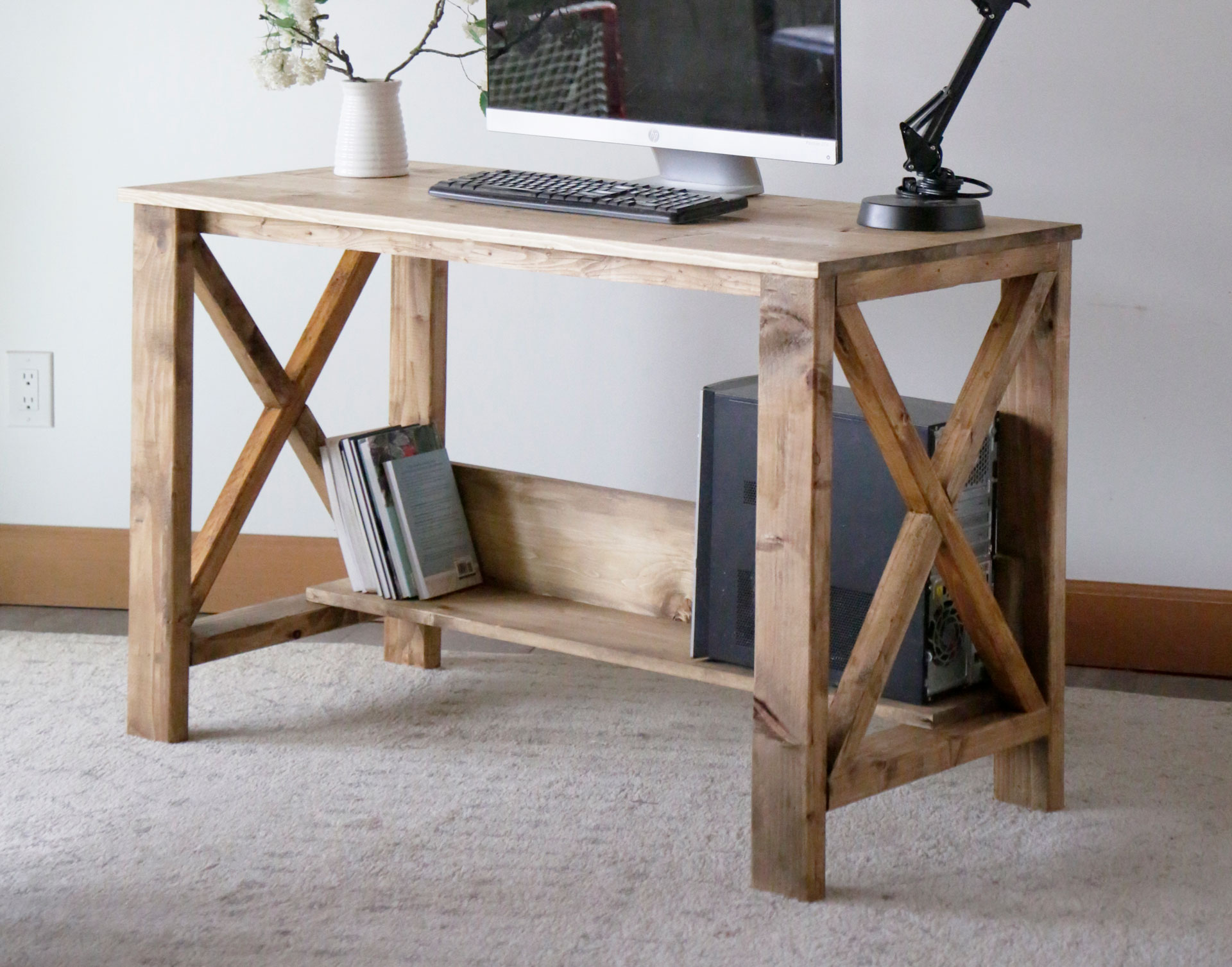 Farmhouse Desk Ana White