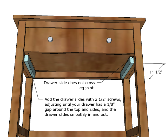 woodworking plans bedside table free