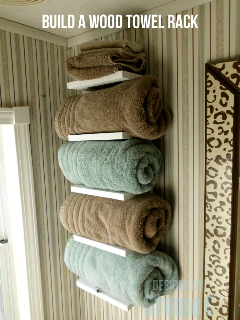 Ana White | DIY Towel Storage - Featuring Designs by Studio C - DIY ...
