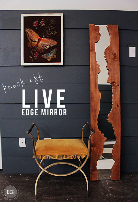 Ana White Diy Live Edge Mirror Featuring East Coast