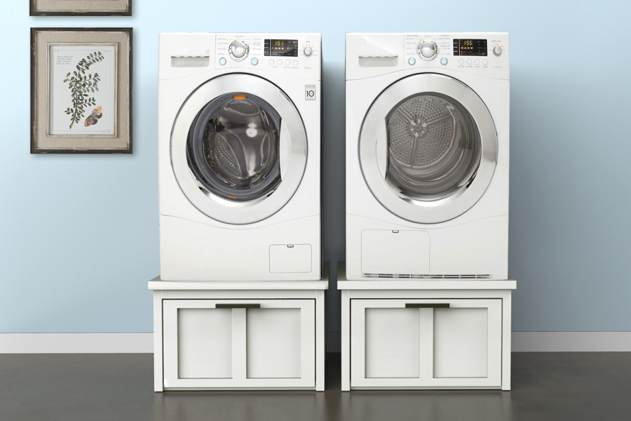 Charmant Modern Washer Dryer Pedestal Featuring Build Something