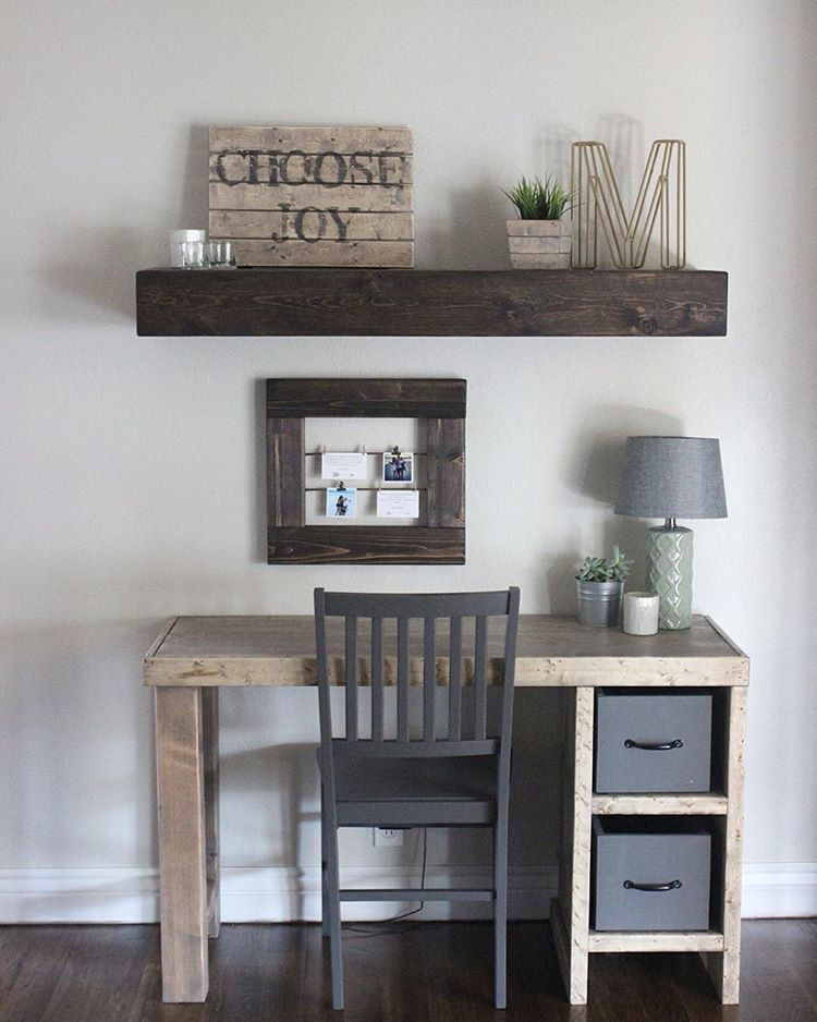 Diy Home Office Desk Featuring Hardy Reno
