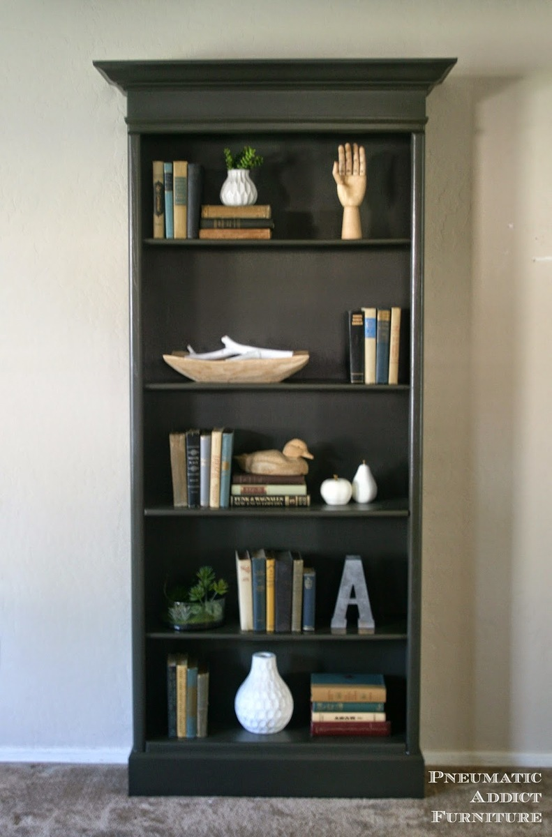 How To Upgrade Bookshelves Featuring Pneumatic Addict Furniture