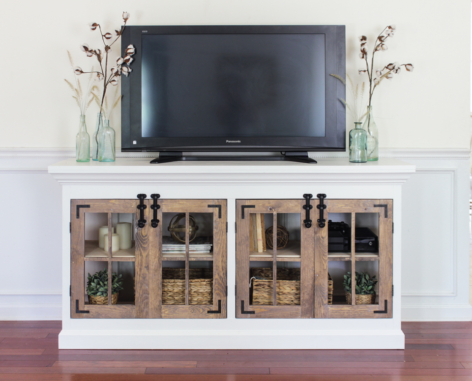 stands tv console j media molucca cabinet furniture barn pottery shop