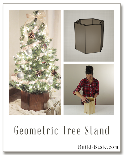 Geometric Christmas Tree Stand - Featuring Build Basic - Ana White Geometric Christmas Tree Stand - Featuring Build Basic