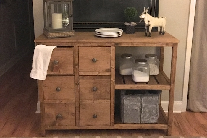 Plans To Build A Sideboard ~ Ana white emma buffet table by rogue engineer diy projects