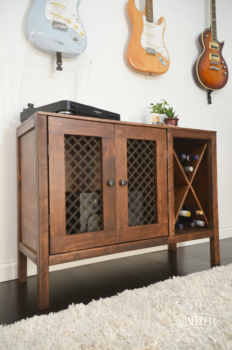 Rustic Cabinet By DIY Huntress Ana White Projects