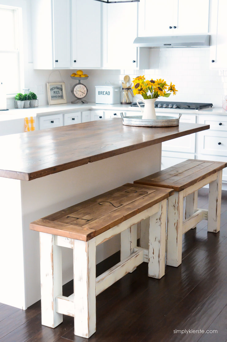 Kitchen Benches Featuring Simply Kierste Design Co.