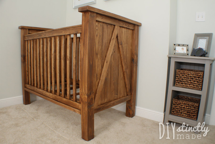Ana White | DIY Farmhouse Crib - Featuring DIYstinctly ...
