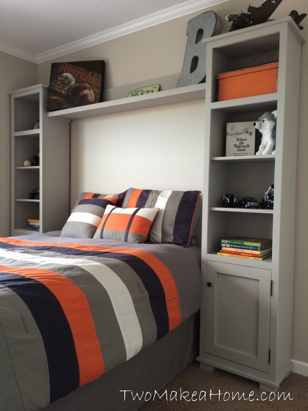 Bedroom Storage Towers   Featuring Two Make A Home