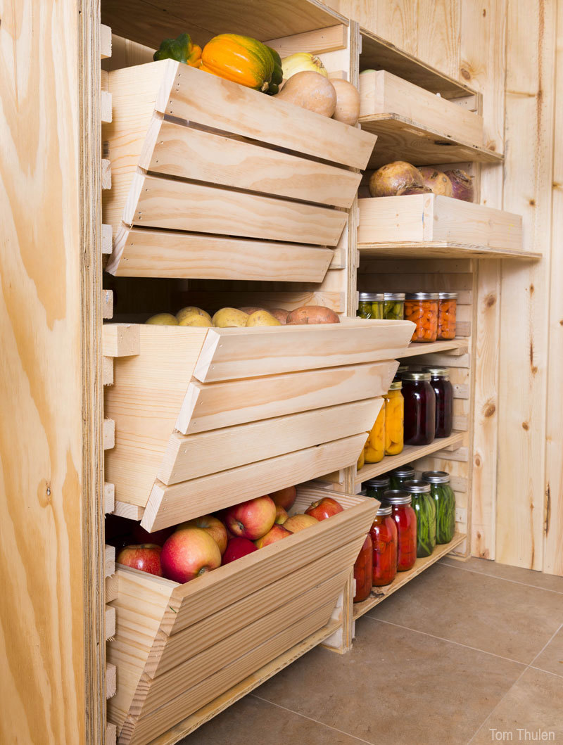 How To Build A Cold Room In Your Basement. Diy Root Cellar Storage Featuring Hobby Farms
