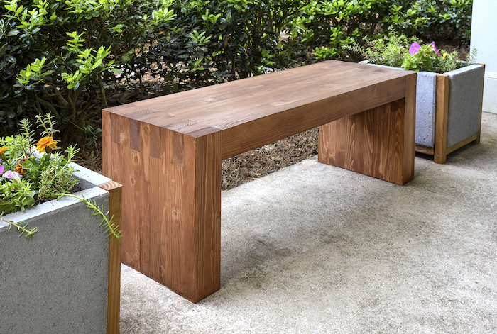 Ana White | Williams Sonoma Inspired Outdoor Bench ...