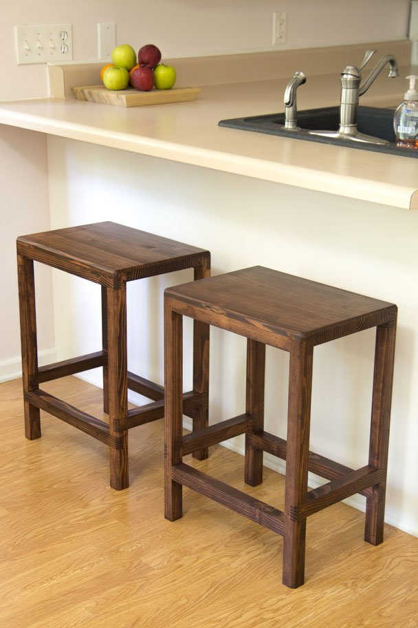 Fabulous 2 X 4 Bar Stools Featuring Jays Custom Creations Ana White Short Links Chair Design For Home Short Linksinfo