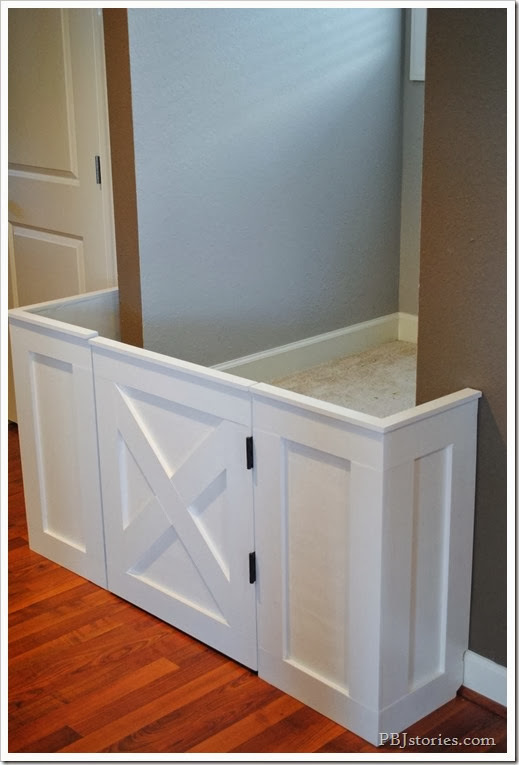 Ana White Diy Baby Gate Feature By Pbj Stories Diy Projects