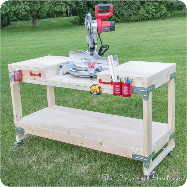DIY Miter Saw Stand   Featuring The Pursuit Of Handyness