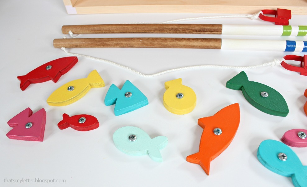 Fishing Game Toy : Ana white wood toy fishing game diy projects