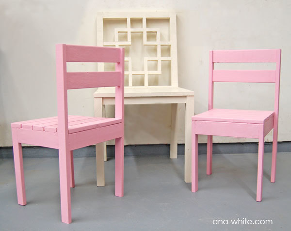 Four Dollar Stackable Childrenu0027s Chairs