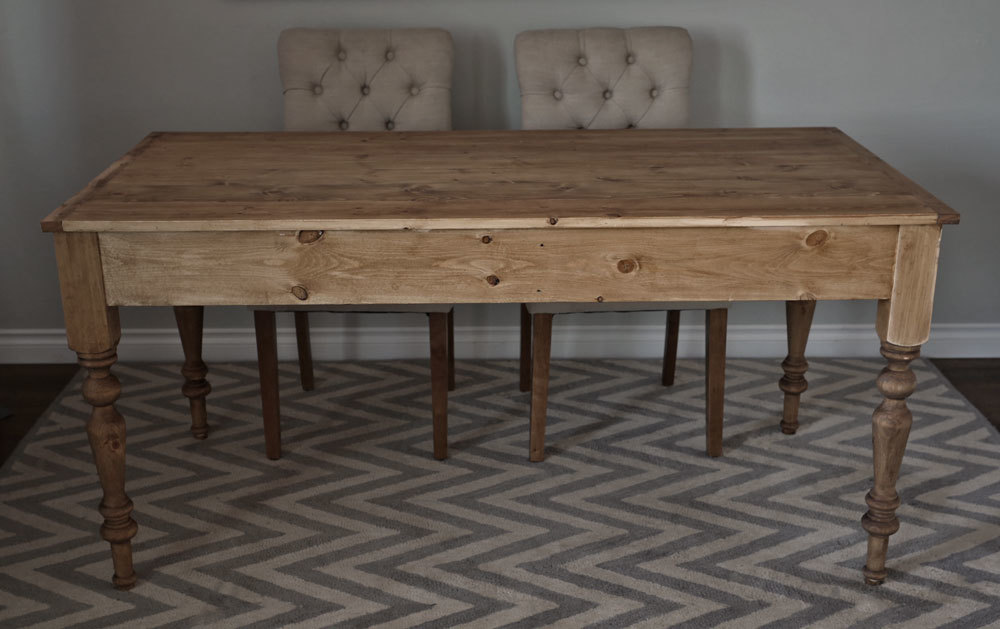 How To Build A Farmhouse Table With Turned Legs By ANA WHITE.com