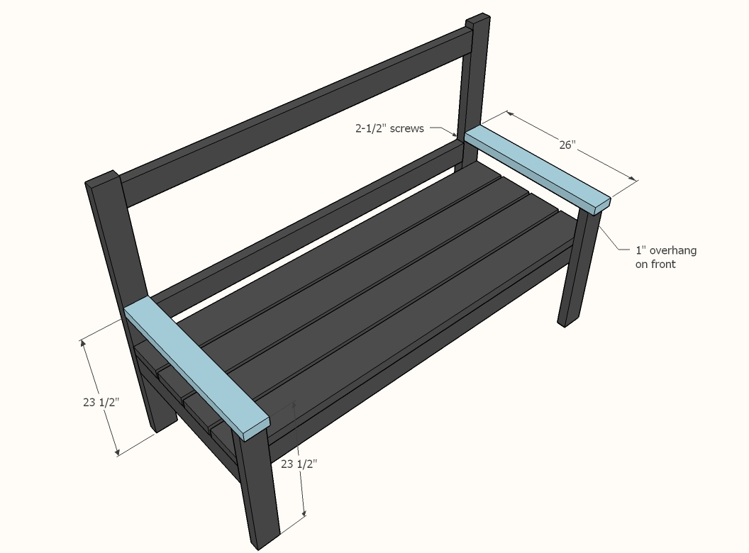 Tremendous Large Porch Bench With X Backs Ana White Ibusinesslaw Wood Chair Design Ideas Ibusinesslaworg