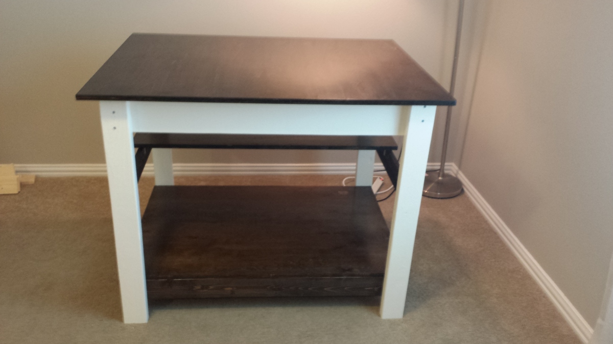 Ana White Craft And Fabric Cutting Table Diy Projects
