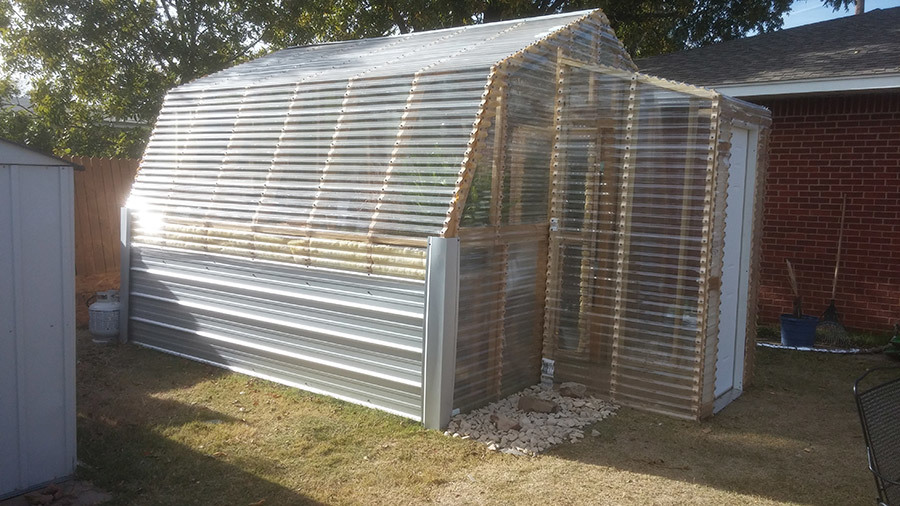 Ana White | Barn Greenhouse with Entryway - DIY Projects