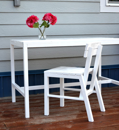Harriet Outdoor Dining Chair For Small Modern Spaces