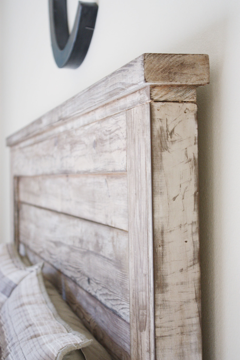 Rustic Headboard Diy Endearing Ana White  Rustic Headboard  Diy Projects Inspiration Design