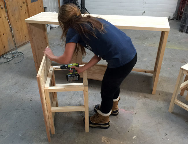 Do It Yourself Home Design: Hidden Desk Apothecary Cabinet - DIY Projects