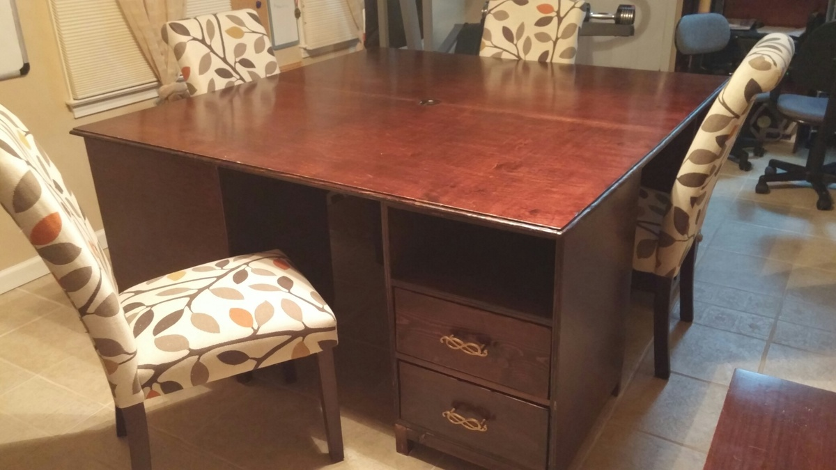 Homeschool Desk 4 Seater