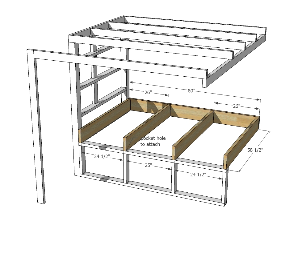 so i suggest and improvement to my original design by adding 2x4 blocking inside the framing spaced to fit your iron pipe fittings this will solve the two - Tiny House Framing 2