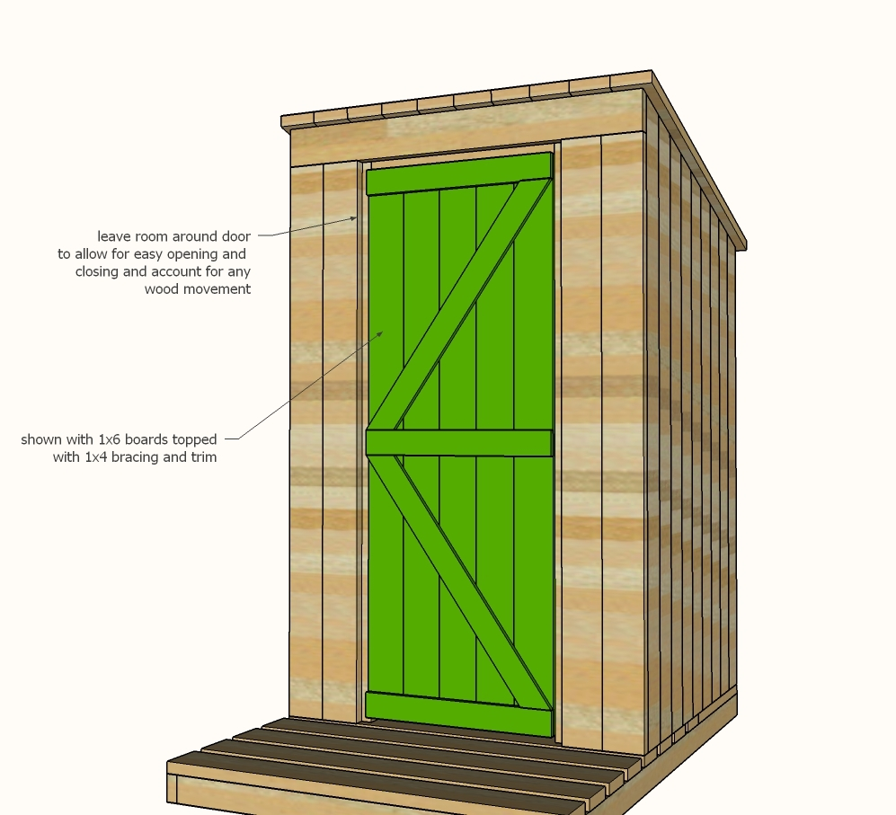 Pics Photos - Free Outhouse Plans Free Step By Step Wood Outdoor Plans