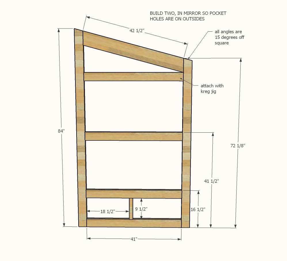 Ana white outhouse plan for cabin diy projects for House construction plan