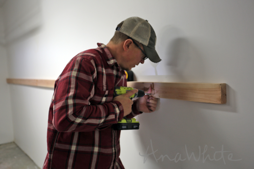how to build a 2x4 wall