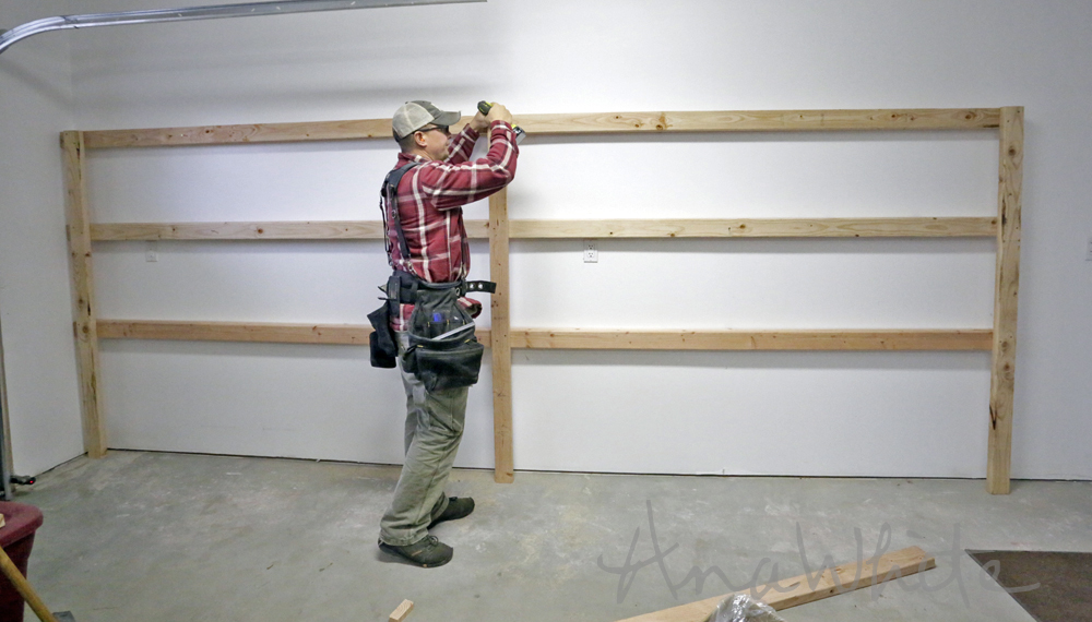 ... How To Build A Workbench Or Shelves. on plans to build a shelving unit
