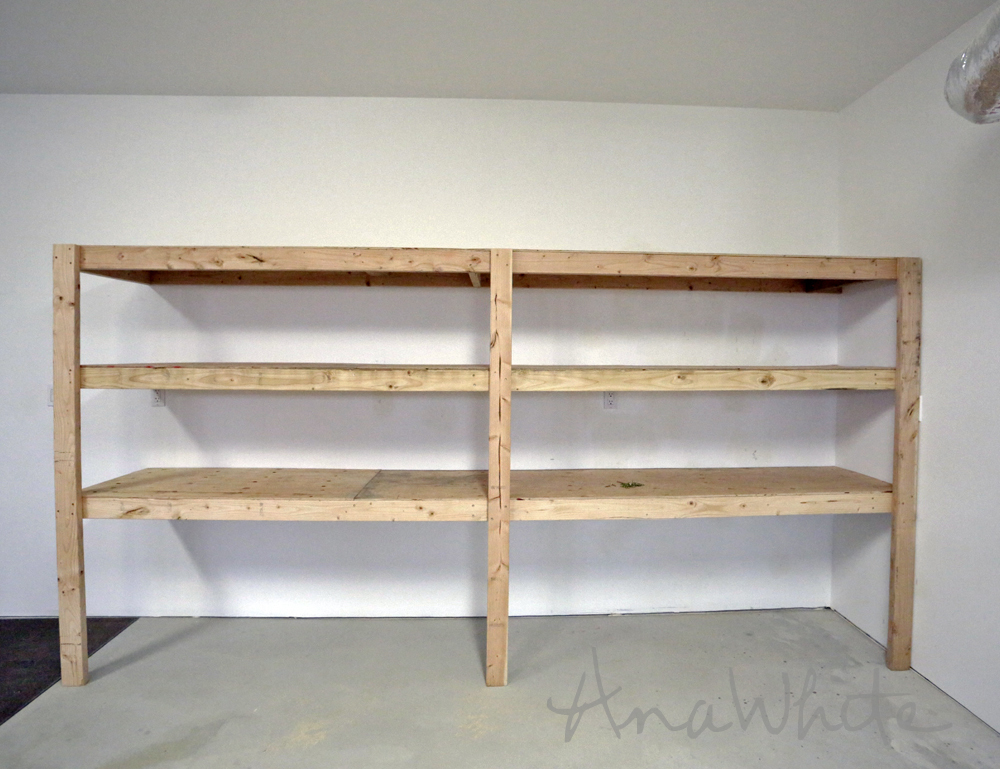 Incroyable Easy And Fast DIY Garage Or Basement Shelving For Tote Storage