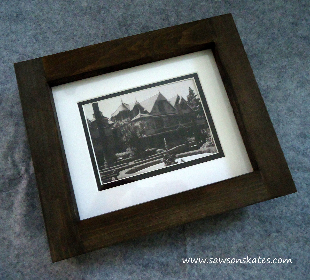 Ana White | No Miter Cut Picture Frames - DIY Projects