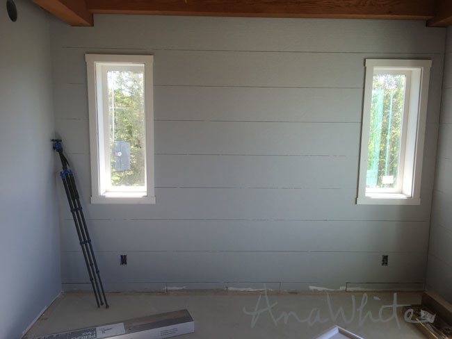 Ana White Simple Shaker Window Trim DIY Projects