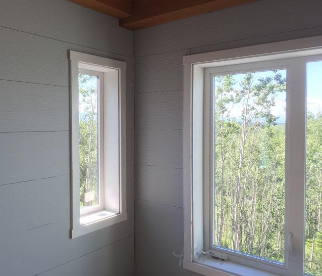 Simple Shaker Window Trim Ana White
