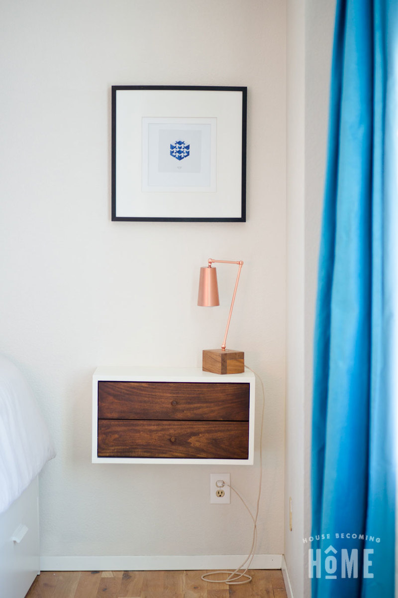 Floating Nightstand With Drawers Ana White