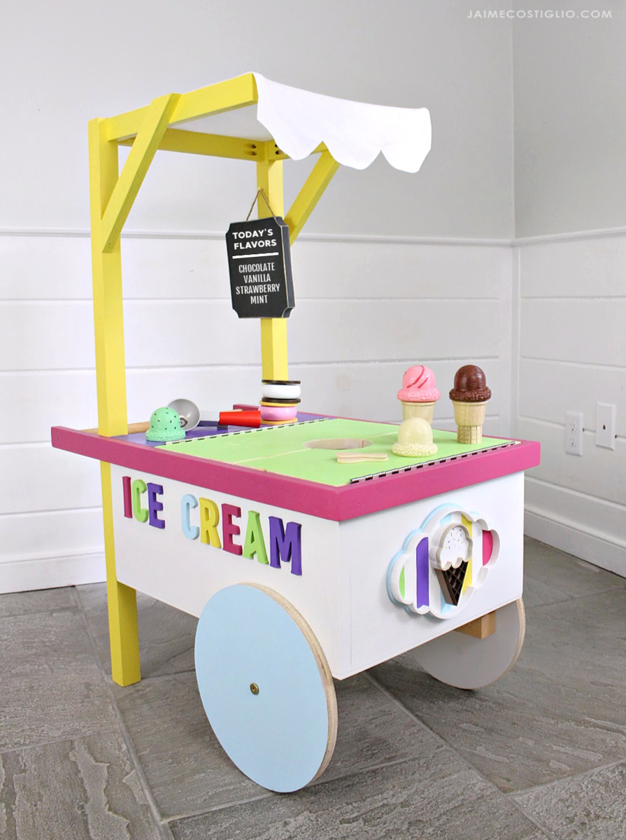 Ice Cream Cart Ana White