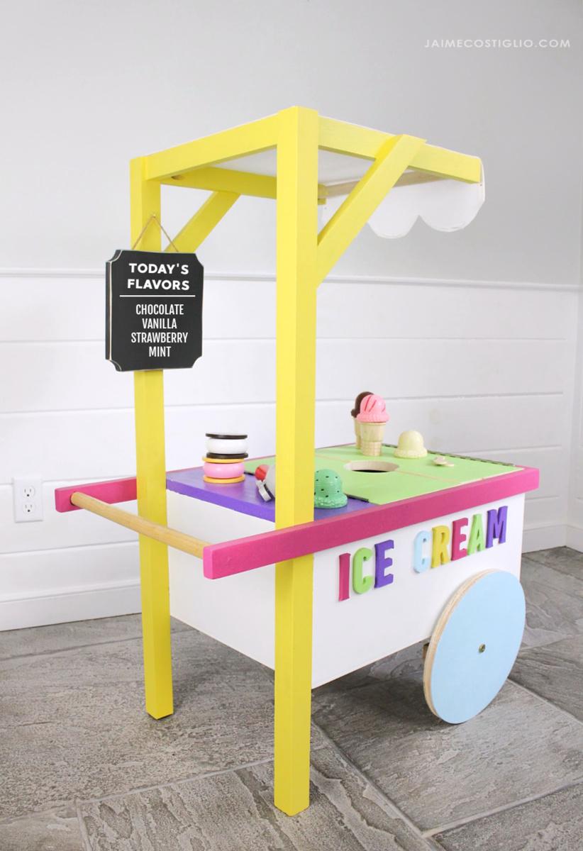 ice cream cart | ana white