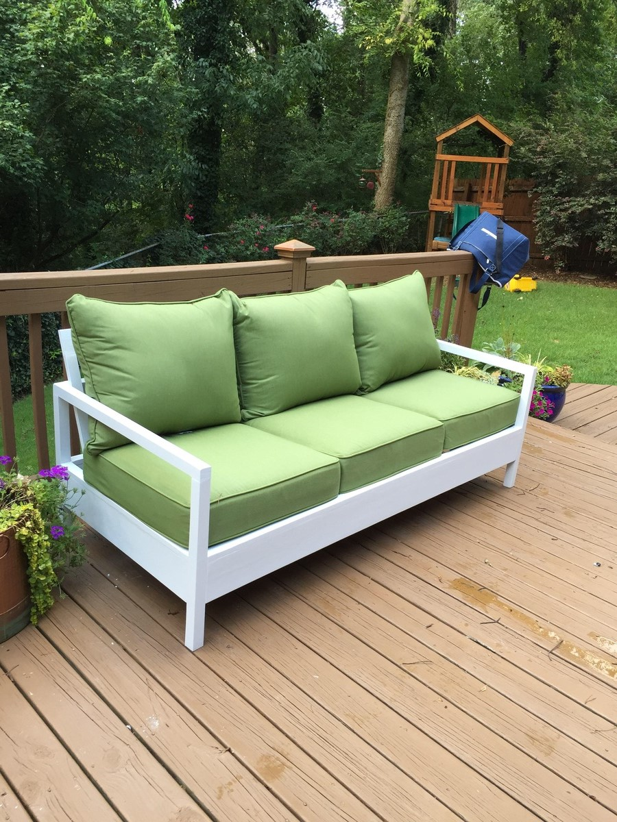 Simple Outdoor Sofa And Chairs Ana White